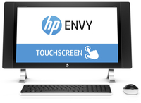 "HP ENVY 24-n000ns 2.8GHz i7-6700T 23.8"" 2560 x 1440Pixel Touch screen Bianco PC All-in-one"