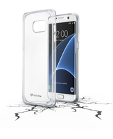 CUSTODIA PER SAMSUNG GALAXY S7 EDGE G935 CELLULAR LINE CLEARDUOGALS7ET CLEAR