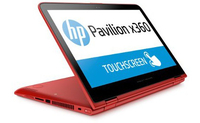 "HP Pavilion x360 11-k118tu 0.9GHz m3-6Y30 11.6"" 1366 x 768Pixel Touch screen Rosso Ibrido (2 in 1)"