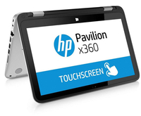 "HP Pavilion x360 11-k118tu 0.9GHz m3-6Y30 11.6"" 1366 x 768Pixel Touch screen Argento Ibrido (2 in 1)"
