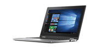 "DELL Inspiron 11 1.6GHz N3700 11.6"" 1366 x 768Pixel Touch screen Nero, Argento Ibrido (2 in 1)"