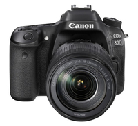 Canon EOS 80D + EF-S 18-135 IS USM Kit fotocamere SLR 24.2MP CMOS 6000 x 4000Pixel Nero