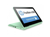 "HP Pavilion x360 11-k005na 1.6GHz N3050 11.6"" 1366 x 768Pixel Touch screen Turchese Ibrido (2 in 1)"
