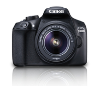 Canon EOS 1300D + EF-S 18-55 IS II Kit fotocamere SLR 18MP CMOS 5184 x 3456Pixel Nero