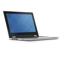 "DELL Inspiron 11 2.3GHz i3-6100U 11.6"" 1366 x 768Pixel Touch screen Nero, Argento Ibrido (2 in 1)"