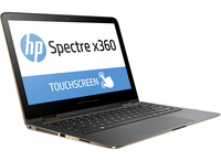 "HP Spectre x360 13-4103nt 2.5GHz i7-6500U 13.3"" 2560 x 1440Pixel Touch screen Argento Ibrido (2 in 1)"