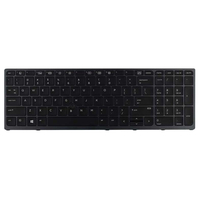 HP Backlit keyboard assembly (Germany) Tastiera