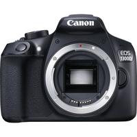 Canon EOS 1300D + 18-55IS Kit fotocamere SLR 18MP CMOS 5184 x 3456Pixel Nero