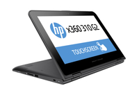 "HP x360 310 G2 1.6GHz N3050 11.6"" 1366 x 768Pixel Touch screen Nero, Argento Ibrido (2 in 1)"