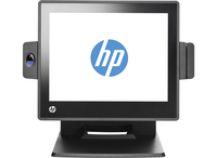 "HP RP7 Retail System Model 7800 Tutto in uno 3.3GHz i3-2120 15"" 1024 x 768Pixel Touch screen Nero terminale POS"