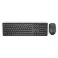 DELL KM636 RF Wireless QWERTY Russo Nero tastiera