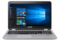 "ASUS VivoBook Flip TP501UB-DN018T 2.5GHz i7-6500U 15.6"" 1920 x 1080Pixel Touch screen Antracite, Argento Ibrido (2 in 1)"