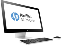"HP Pavilion 27-n150ng 1.9GHz i5-4460T 27"" 1920 x 1080Pixel Nero, Bianco PC All-in-one"