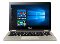 "ASUS VivoBook TP301UA-C4147T 2.3GHz i5-6200U 13.3"" 1980 x 1080Pixel Touch screen Oro Ibrido (2 in 1) notebook/portatile"