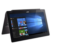 "Acer Aspire Switch 12 S SW7-272P-M0J5 0.9GHz m3-6Y30 12.5"" 1920 x 1080Pixel Touch screen Nero Ibrido (2 in 1)"