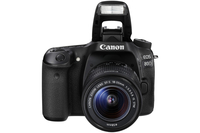 Canon 80D + EF-S 18-135mm IS USM Kit fotocamere SLR 24.2MP CMOS 6000 x 4000Pixel Nero