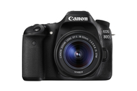 Canon EOS 80D + EF-S 18-55mm f/3.5-5.6 IS STM Kit fotocamere SLR 24.2MP CMOS 6000 x 4000Pixel Nero