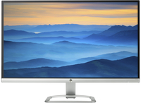 "HP 27es 27"" Full HD IPS Nero, Argento monitor piatto per PC"