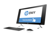 "HP ENVY 27-p006ng 2.8GHz i7-6700T 27"" 2560 x 1440Pixel Touch screen Perlato, Bianco PC All-in-one"