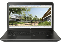 "HP ZBook 17 2.6GHz i7-6700HQ 17.3"" 1920 x 1080Pixel 3G 4G Nero Workstation mobile"