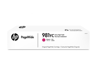 HP 981YC Extra High Yield Magenta Original PageWide Cartridge 16000pagine Magenta cartuccia d