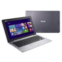 "ASUS Transformer Book TX201LA-CQ003H 1.8GHz i7-4500U 11.6"" 1920 x 1080Pixel Touch screen Grigio, Argento Ibrido (2 in 1)"