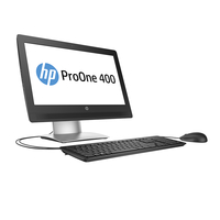 "HP ProOne 400 G2 3.8GHz i3-6300 20"" 1600 x 900Pixel Argento PC All-in-one"