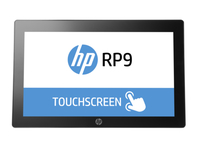"HP RP9 G1 Retail System Model 9015 Tutto in uno 3.7GHz i3-6100 15.6"" 1366 x 768Pixel Touch screen Argento terminale POS"