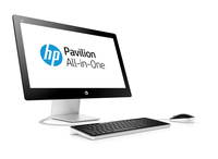 "HP Pavilion 23-q162d 2.8GHz i7-6700T 23"" 1920 x 1080Pixel Nero, Bianco PC All-in-one"