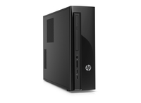 HP Slimline 450-123d 2.7GHz i7-4790T PC di dimensione 1,2L Nero Mini PC