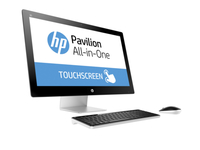 "HP Pavilion 27-n201d 2.8GHz i7-6700T 27"" 1920 x 1080Pixel Touch screen Nero, Bianco PC All-in-one"