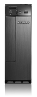 Lenovo IdeaCentre H30-50 3.6GHz i3-4160 Mini Tower Nero, Argento PC