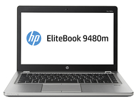 "HP EliteBook 9480m 2.1GHz i7-4600U 14"" 1600 x 900Pixel Nero, Argento Ultrabook"