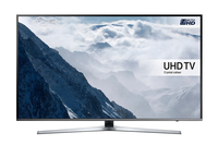"Samsung UE49KU6455U 49"" 4K Ultra HD Smart TV Wi-Fi Nero, Argento LED TV"