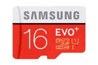 Samsung EVO Plus MB-MC16D 16GB MicroSD UHS-I Classe 10 memoria flash