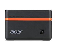Acer Revo M1-601 1.6GHz J3710 PC di dimensione 1L Nero, Arancione Mini PC