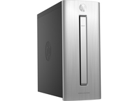 HP ENVY 750-134nf 2.7GHz i5-6400 Mini Tower Nero, Argento PC