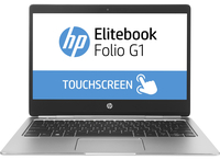 "HP EliteBook Folio G1 1.1GHz m5-6Y57 12.5"" 1920 x 1080Pixel Touch screen Argento Computer portatile"