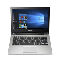 "ASUS TP300LJ-C4056T 2GHz i3-5005U 13.3"" 1920 x 1080Pixel Touch screen Nero, Acciaio inossidabile Ibrido (2 in 1) notebook/portatile"