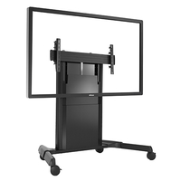 Chief LPD1U Portable flat panel floor stand Nero base da pavimento per tv a schermo piatto