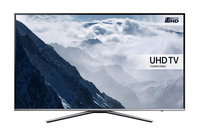 "Samsung UE65KU6400U 65"" 4K Ultra HD Smart TV Wi-Fi Metallico, Argento LED TV"