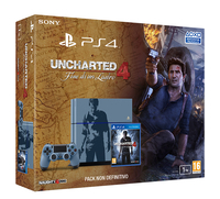 Sony PS4 1TB + Uncharted 4 Limited Edition 1000GB Wi-Fi Multicolore