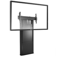 Chief LFD1U Fixed flat panel floor stand Nero base da pavimento per tv a schermo piatto