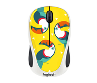 Logitech M238 RF Wireless Ottico 1000DPI Mano destra Multicolore mouse