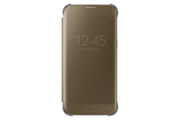 "Samsung Clear View Cover 5.1"" Custodia a libro Oro"