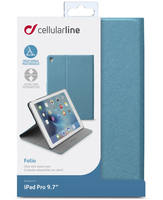Cellularline Folio - iPad Pro 9.7 Custodia per iPad Pro 9.7 con stand multiangolo Verde