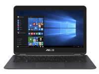 "ASUS ZenBook Flip UX360CA-0071B6Y30 0.9GHz m3-6Y30 13.3"" 1920 x 1080Pixel Touch screen Nero, Grigio Ibrido (2 in 1) notebook/portatile"