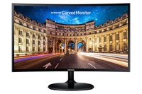 "Samsung C24F390FHM 23.5"" Full HD LED Nero monitor piatto per PC"