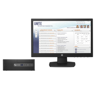 HP ProDesk 400 G3 SFF + V196 + 3 year NBD Onsite Hardware Support 3.2GHz i5-6500 SFF Nero PC