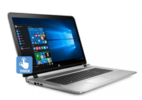 "HP ENVY 17-s017cl 2.5GHz i7-6500U 17.3"" 1920 x 1080Pixel Touch screen Argento Computer portatile"